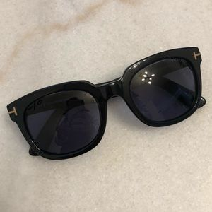 595d4d186865 Tom Ford Accessories - Tom Ford Campbell TF 198 01b Black FT 0198